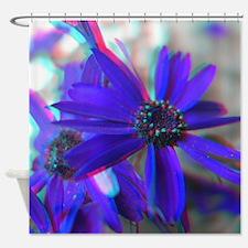3D Floral Photograhy Shower Curtain