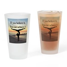 GYMNAST INSPIRATION Drinking Glass