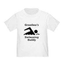 Grandmas Swimming Buddy T-Shirt