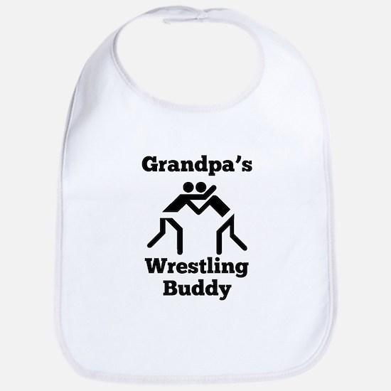 Grandpas Wrestling Buddy Bib
