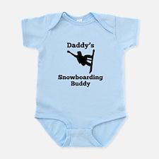 Daddys Snowboarding Buddy Body Suit