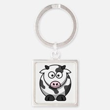 Cartoon Cow Keychains