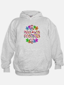 Peace Love Gymnastics Hoodie