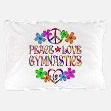 Peace Love Gymnastics Pillow Case