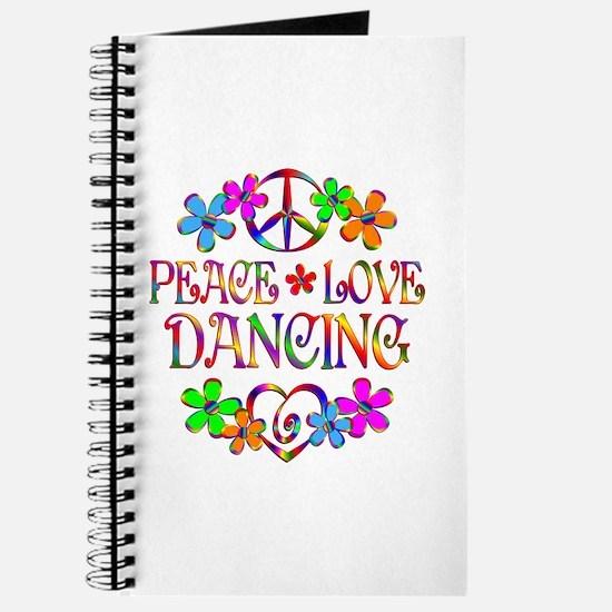 Peace Love Dancing Journal