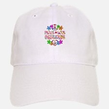 Peace Love Cheerleading Baseball Baseball Cap
