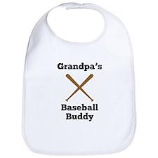 Grandpas Baseball Buddy Bib