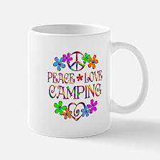 Peace Love Camping Mug