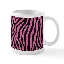 Pink Zebra Mugs
