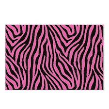 Pink Zebra Postcards (Package of 8)