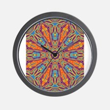 Cute Meditation Wall Clock