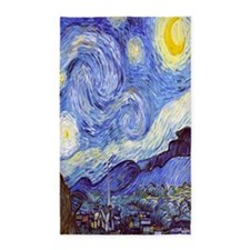Starry Night Van Gogh Area Rug