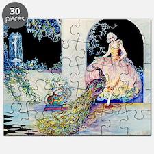 Tsanya Peacock Garden Puzzle