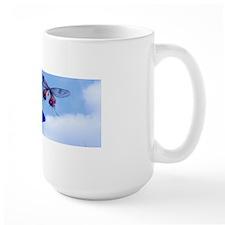 Take Flight Butterfly Orchid Art Mugs