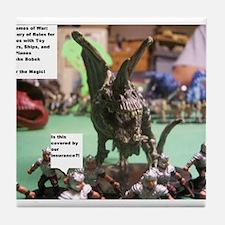 The Games of War 1 Tile Coaster
