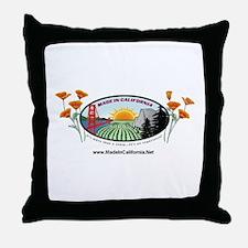 poppylogo1.gif Throw Pillow