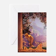 Maxfield Parrish, Daybreak Greeting Cards