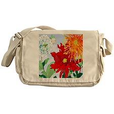 Dazzlin' Dahlias Messenger Bag