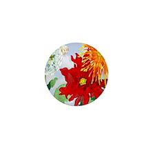 Dazzlin' Dahlias Mini Button (10 pack)