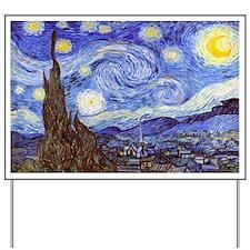 Starry Night Van Gogh Yard Sign