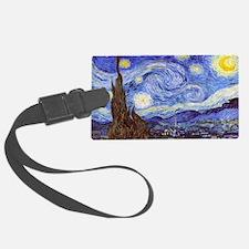 Starry Night Van Gogh Luggage Tag