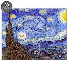 Starry Night Van Gogh Puzzle