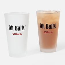 The Goldbergs Adam's worried respon Drinking Glass