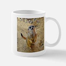 lovely meerkat 515P Mugs