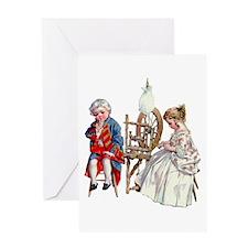 Maud Humphrey - George and Martha Wa Greeting Card