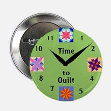 Time to Quilt Button