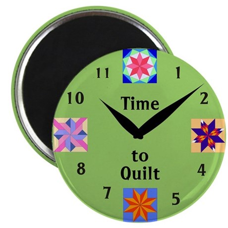 "Time to Quilt 2.25"" Magnet (10 pack)"