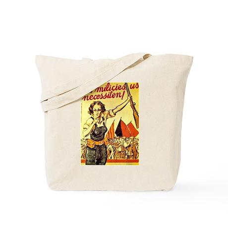Anarchist Militias 2-sidedTote Bag