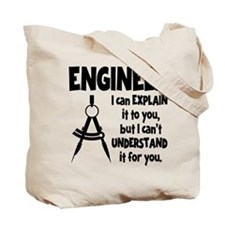 ENGINEER (both sides) Tote Bag