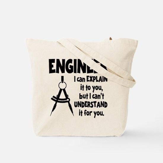 ENGINEER (both sides) Tote Bag