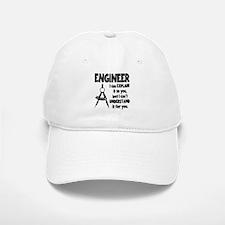 ENGINEER COMPASS Baseball Baseball Cap