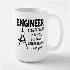 ENGINEER COMPASS Mug