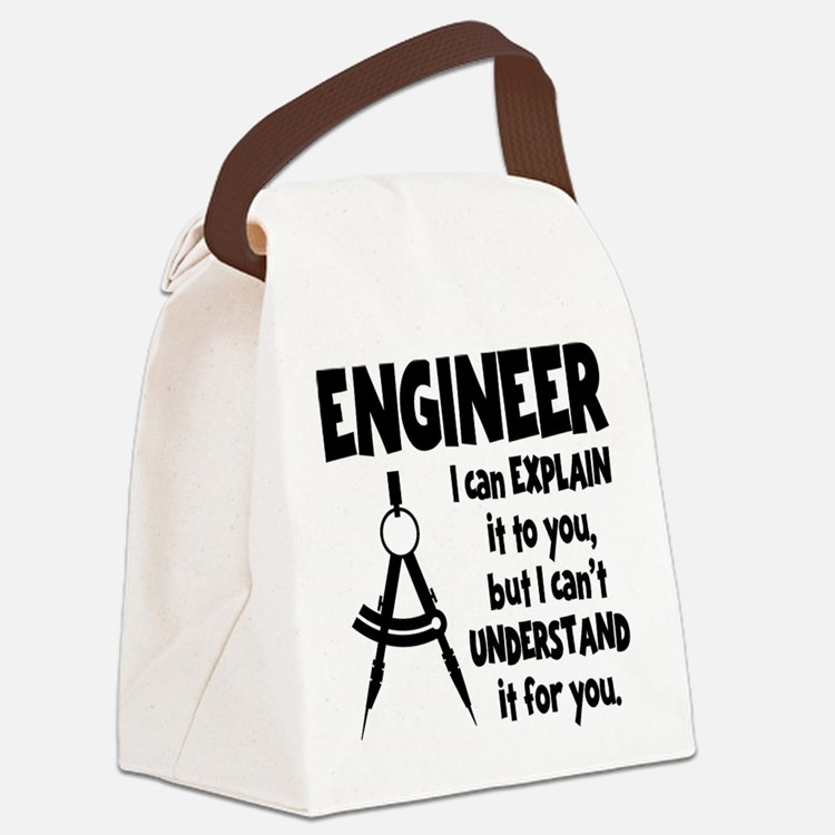 ENGINEER COMPASS Canvas Lunch Bag