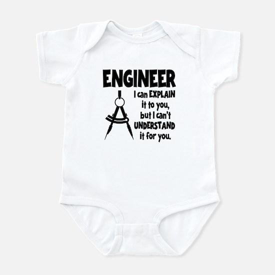 ENGINEER COMPASS Infant Bodysuit
