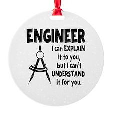 ENGINEER COMPASS Ornament