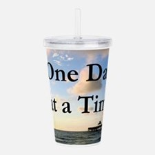 ONE DAY AT A TIME Acrylic Double-wall Tumbler