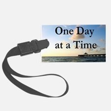 ONE DAY AT A TIME Luggage Tag
