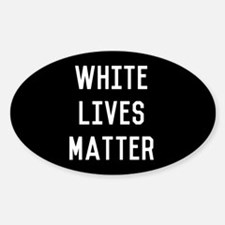 White Lives Matter Decal