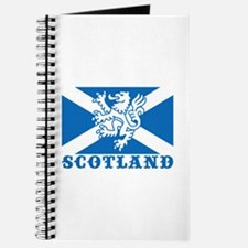 Flag of Scotland with Lion Journal