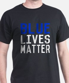 Blue Lives Matter Police T-Shirt