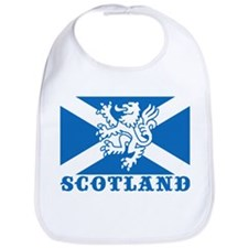 Flag of Scotland with Lion Bib
