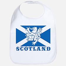 Flag of Scotland with Lion Bib