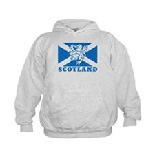 Flag of Scotland with Lion Hoodie