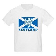 Flag of Scotland with Lion T-Shirt