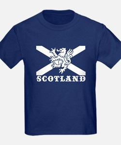 Flag of Scotland with Lion T