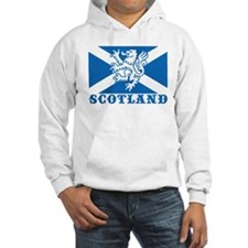 Flag of Scotland with Lion Jumper Hoody